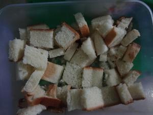 Potongan Roti Tawar