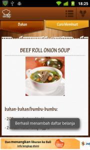 contoh resep salah satu masakan